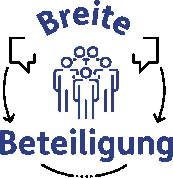 Das Logo der Breiten Beteiligung als Link zur Startseite